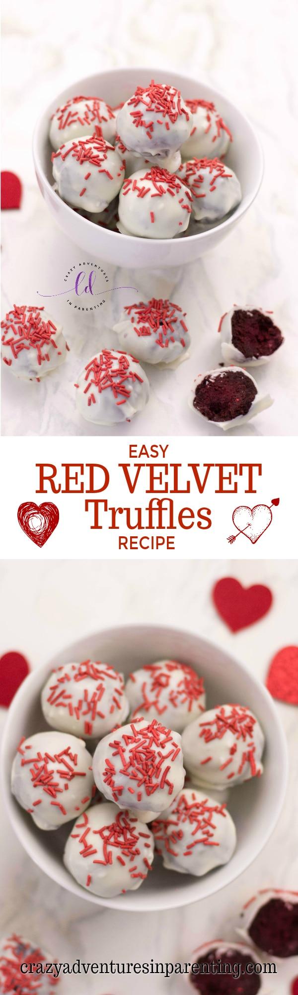 Easy Red Velvet Truffles Recipe