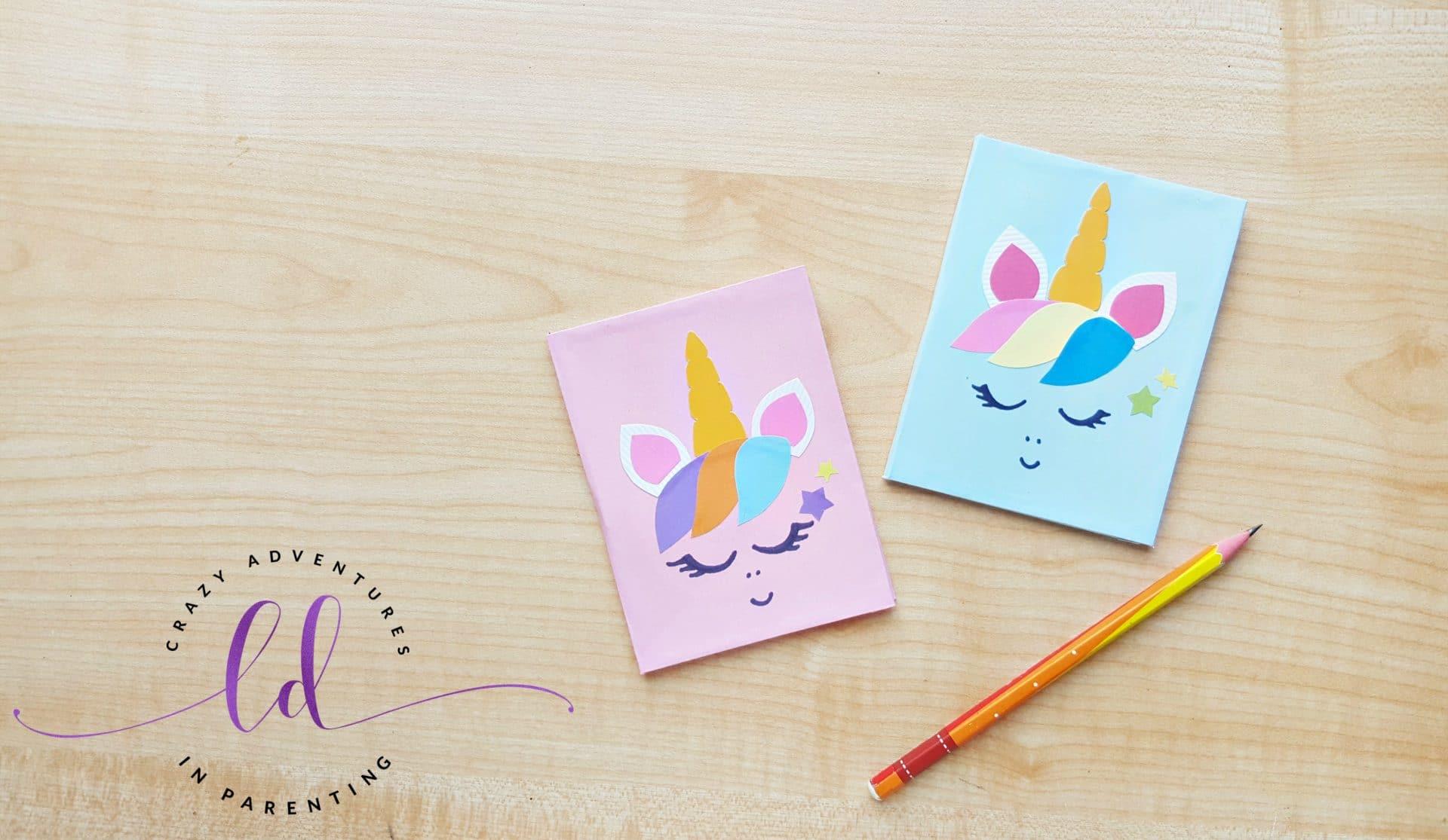 Fun DIY Unicorn Notebook