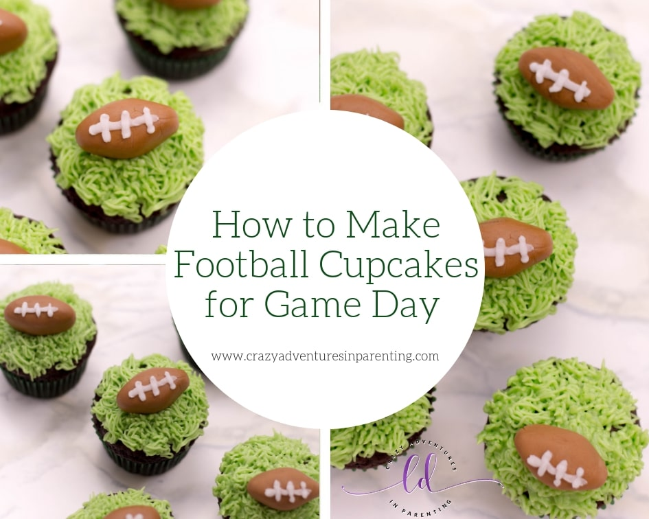 How to Make Football Cupcakes for Game Day