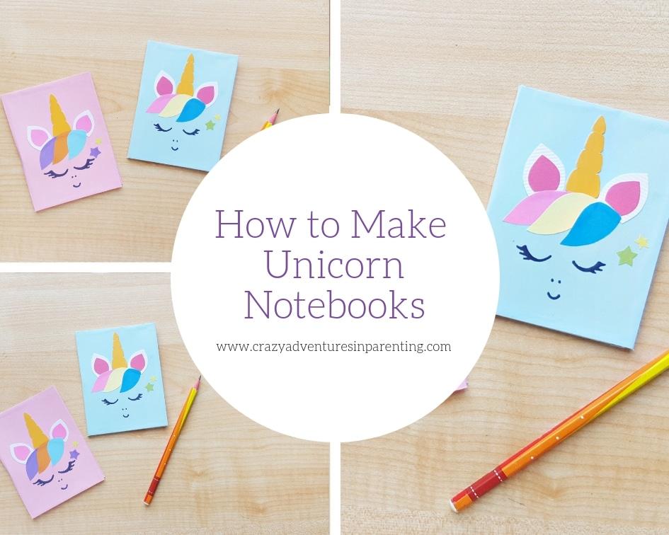 How to Make Unicorn Notebooks