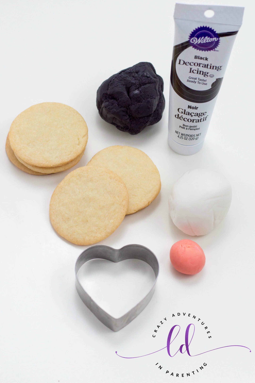 Ingredients to Make Penguin Cookies