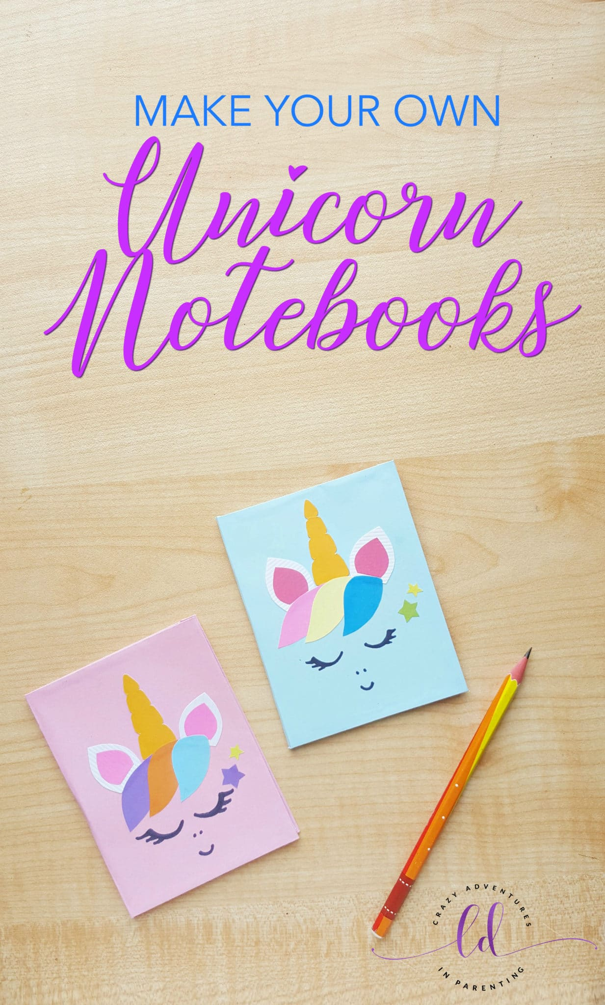 Make Your Own Unicorn Notebook