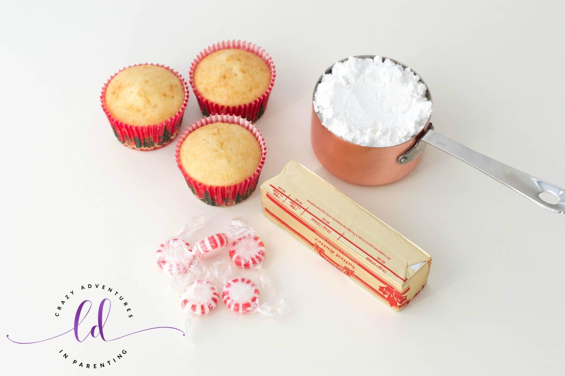 Peppermint Cupcakes Ingredients