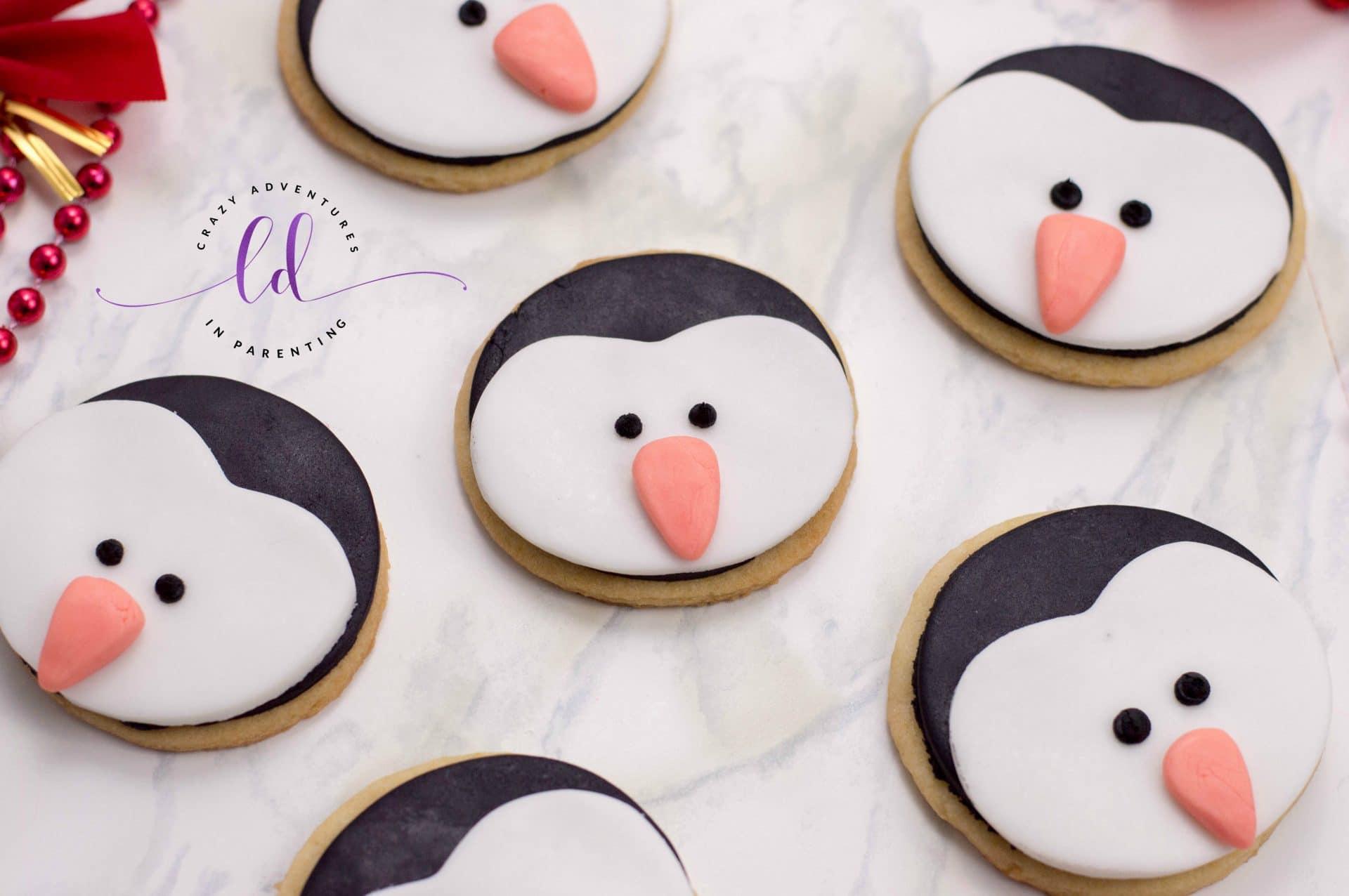 Perfect Penguin Cookies