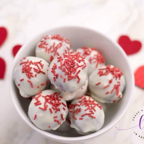 Red Velvet Truffles for Valentine's
