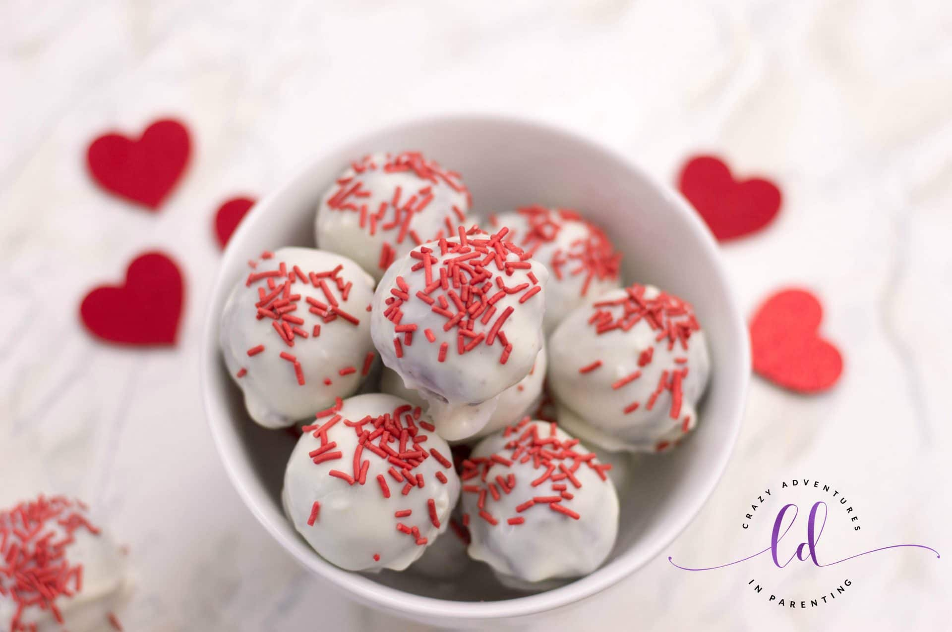 Red Velvet Truffles for Valentine's