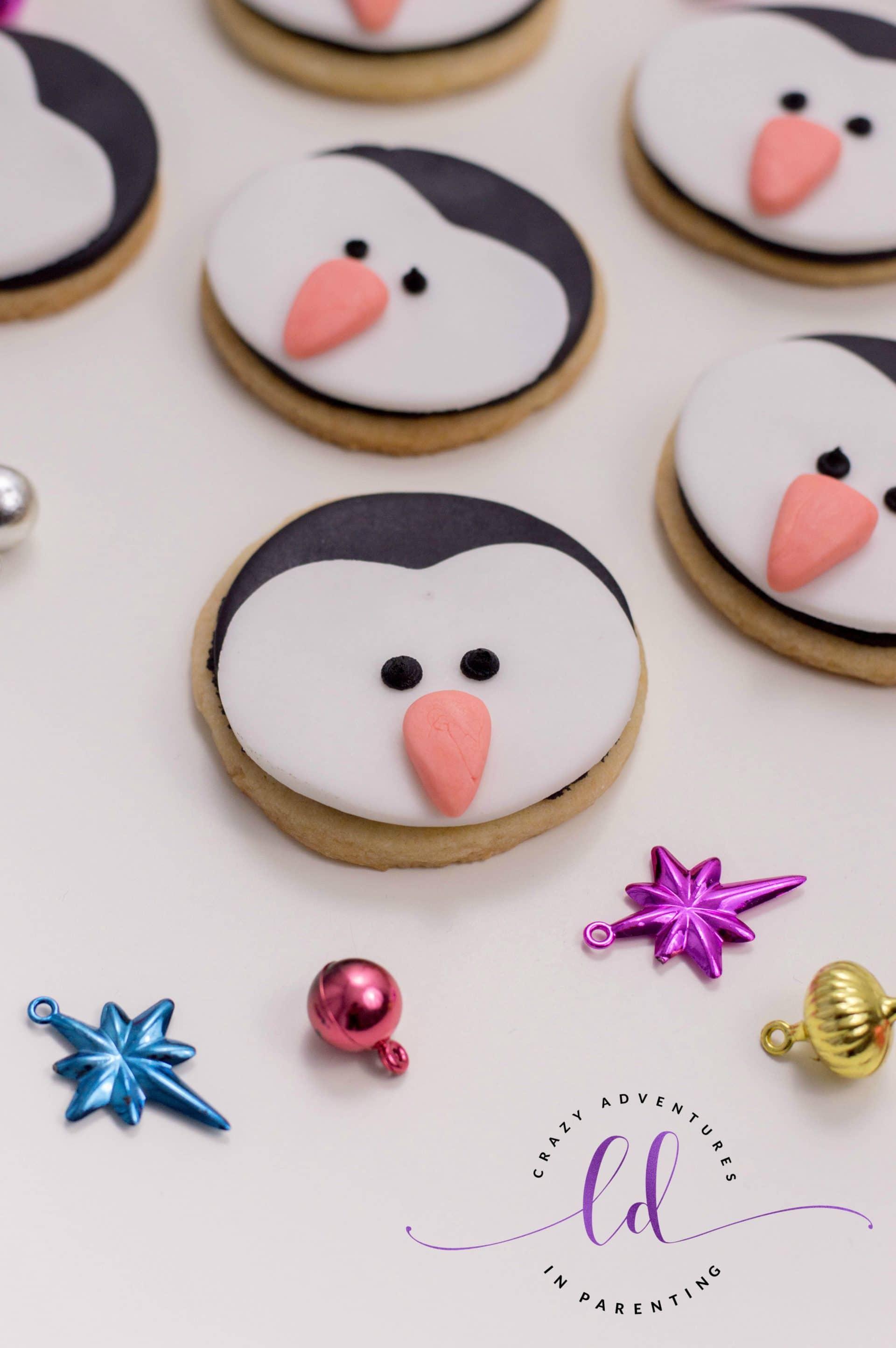 Simple Penguin Cookies