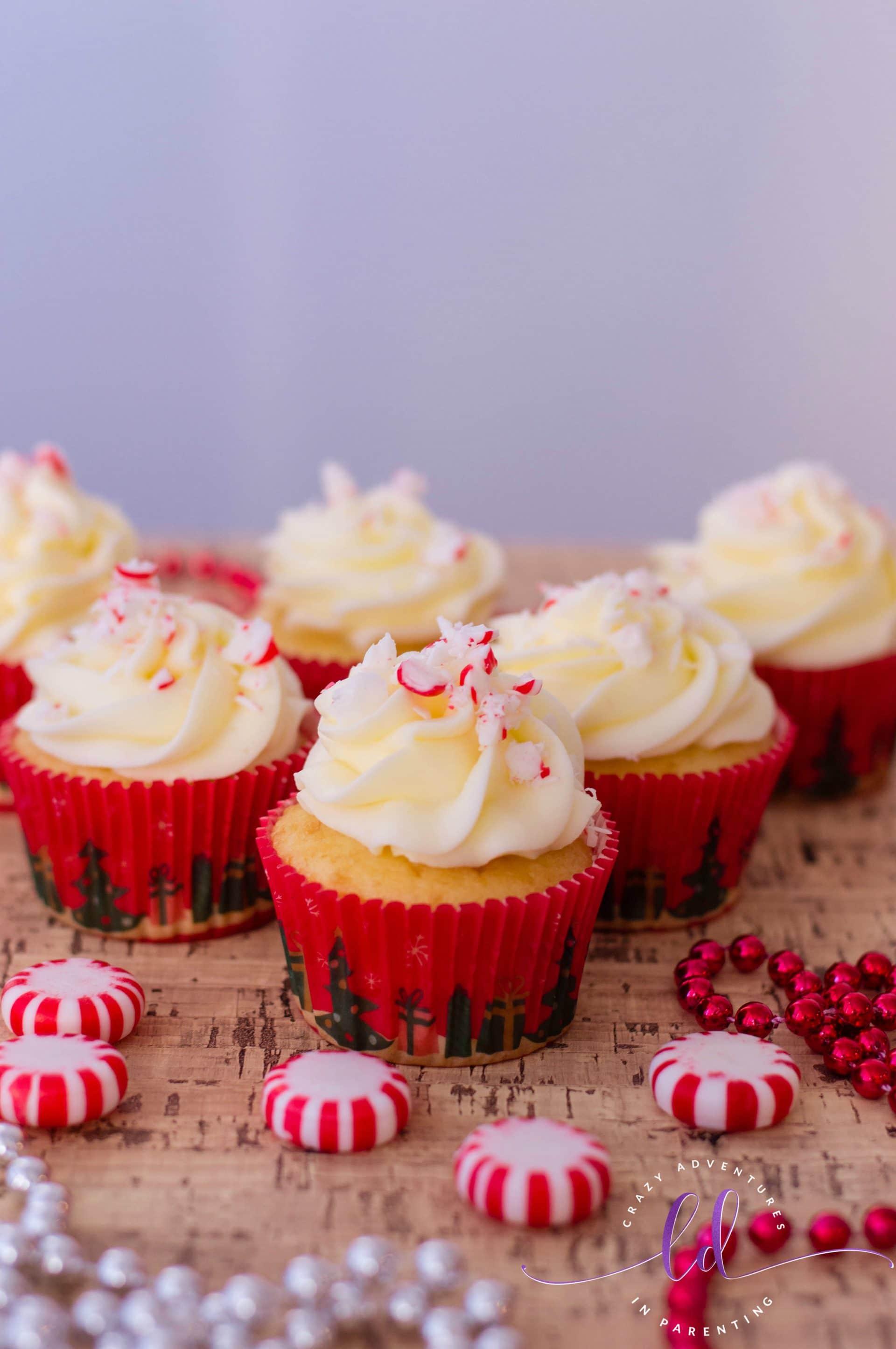 Simple Peppermint Cupcakes Recipe