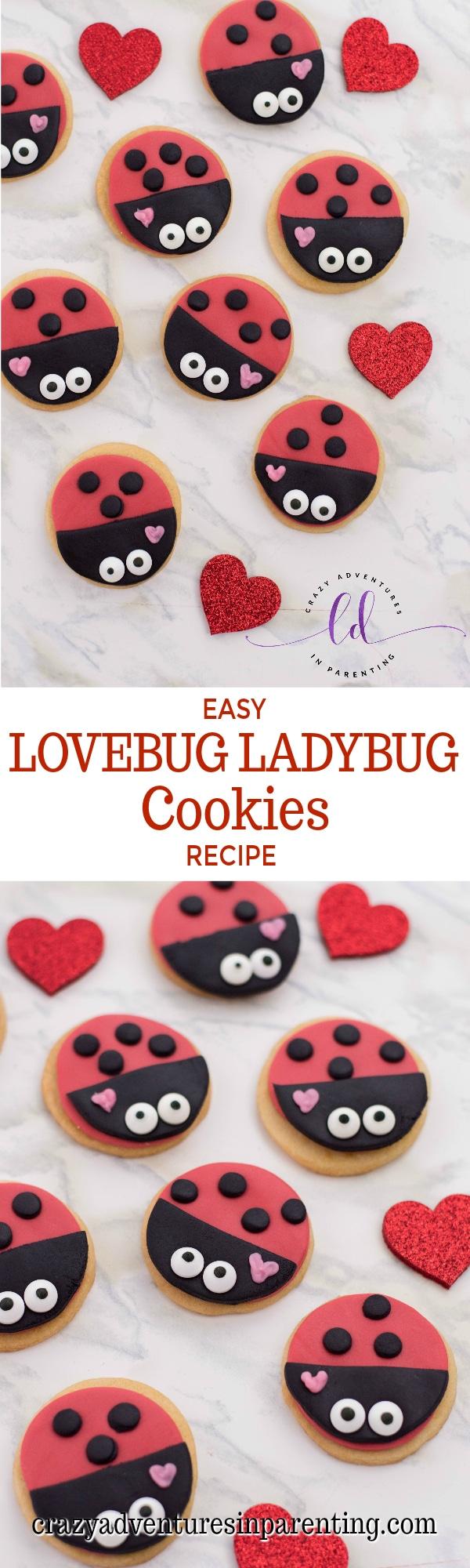 Easy Lovebug Ladybug Cookies Recipe