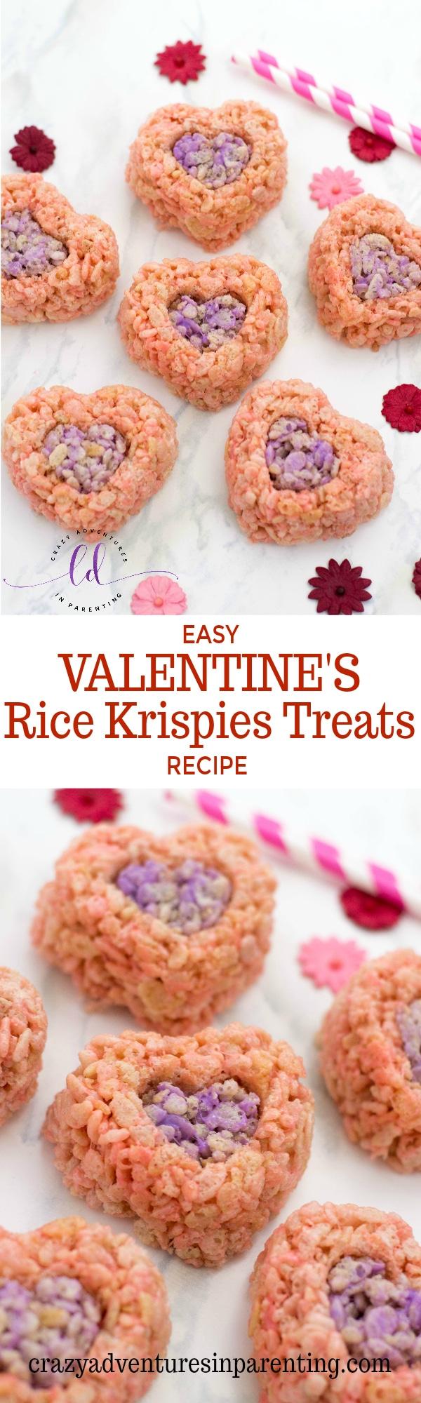 Easy Valentine's Rice Krispies Treats Recipe