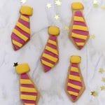 Harry Potter Gryffindor Tie Cookies