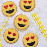 Heart Eyes Emoji Cookies Recipe