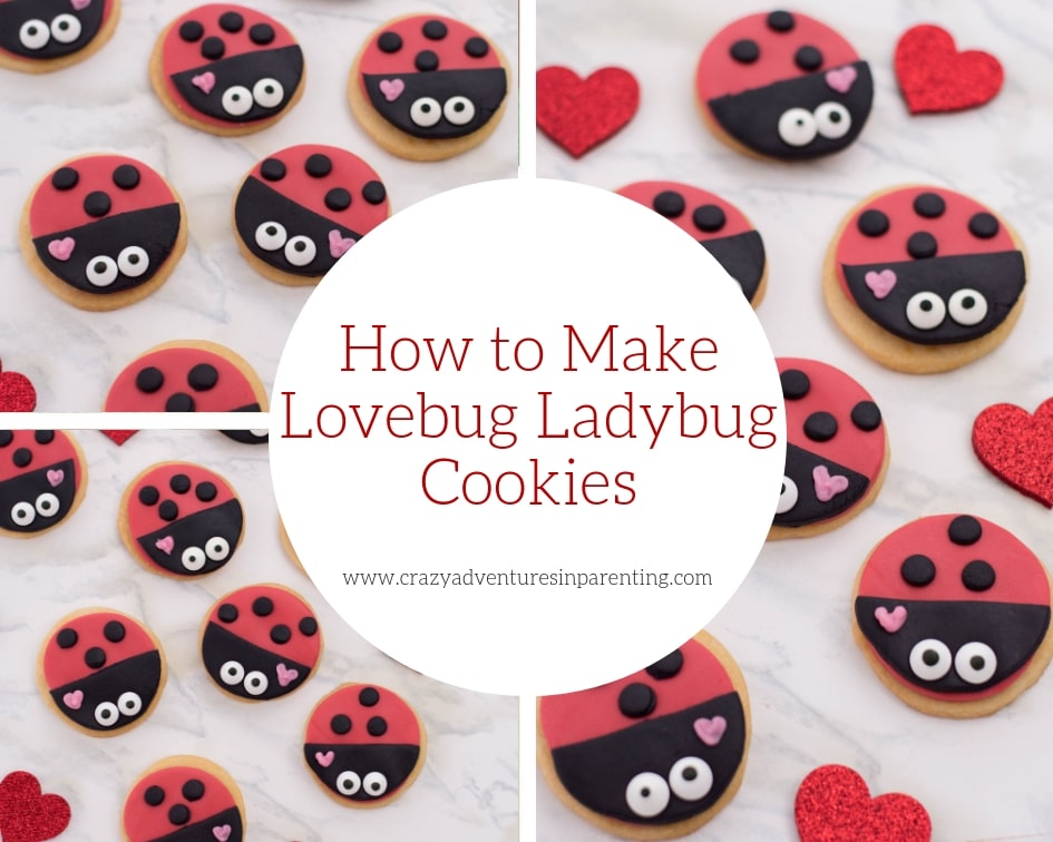 How to Make Lovebug Ladybug Cookies
