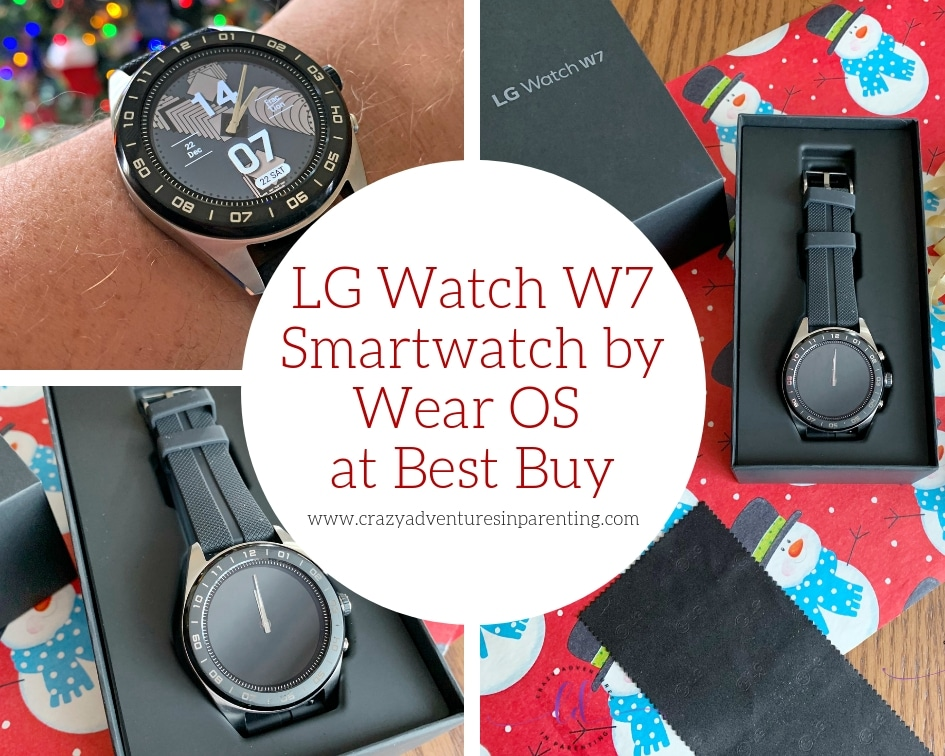 LG Watch W7 Smartwatch Powered by Wear OS at Best Buy