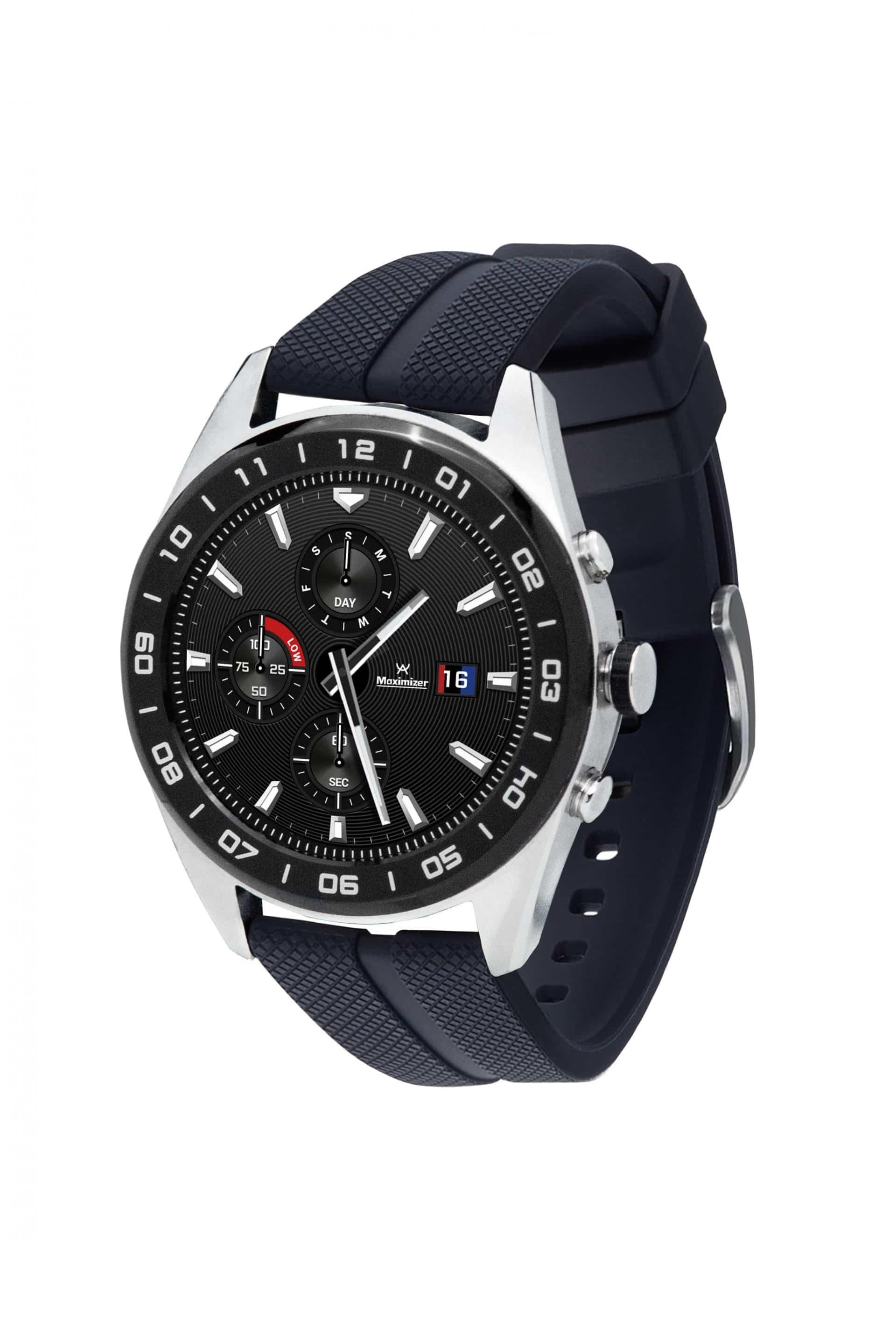 LG Watch W7 Smartwatch by Wear OS left angle
