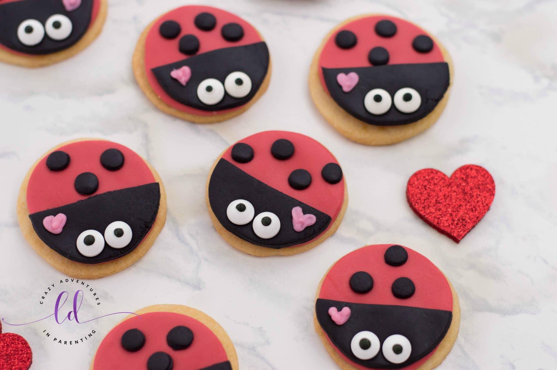 Lovebug Ladybug Cookies Recipe