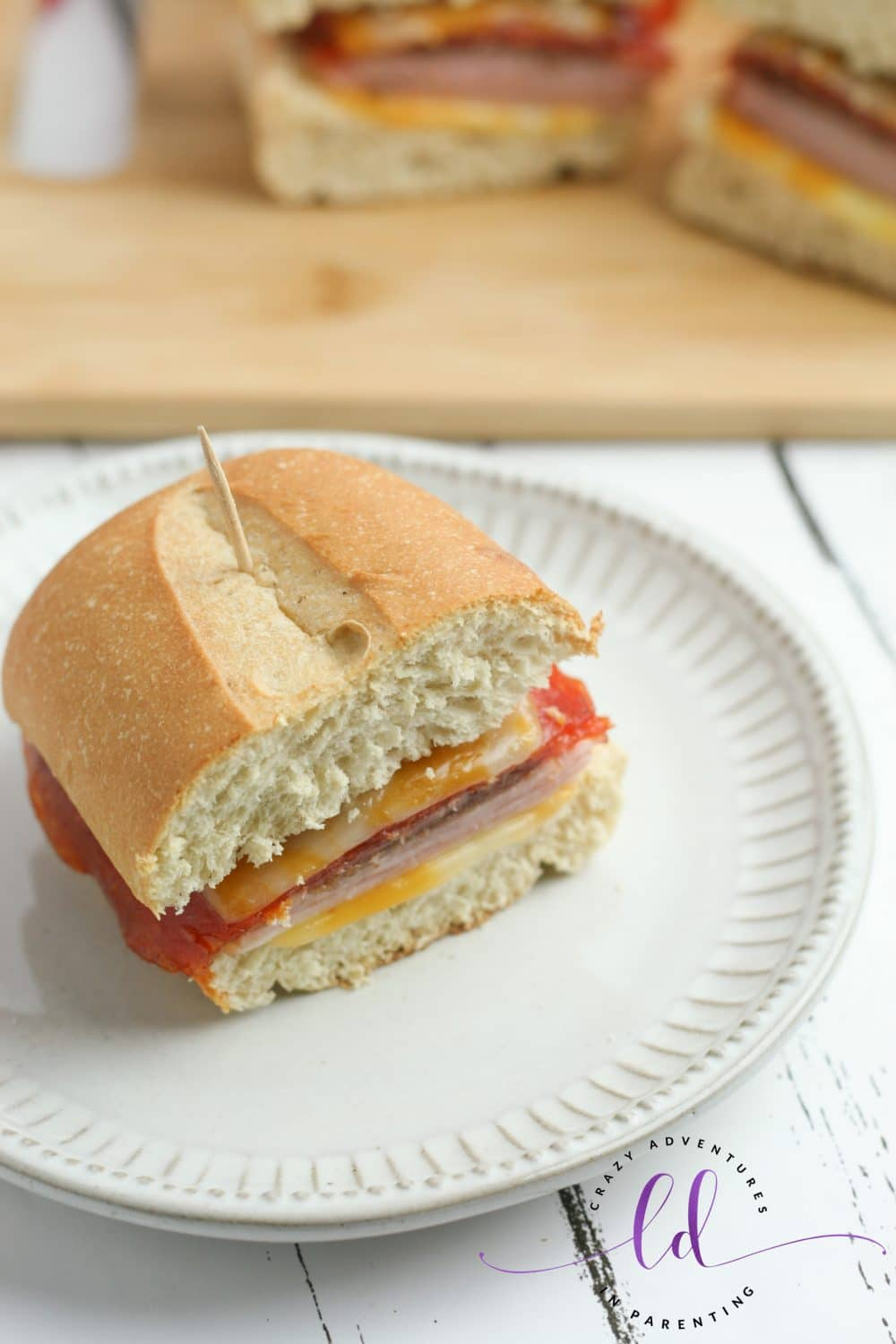 Baked Mini Party Subs
