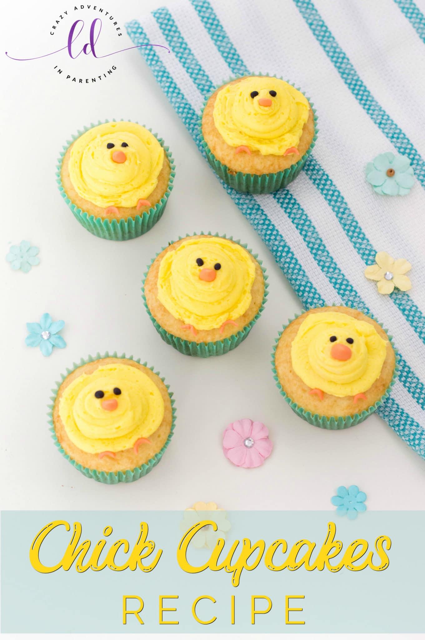 Chick Cupcakes Recipe