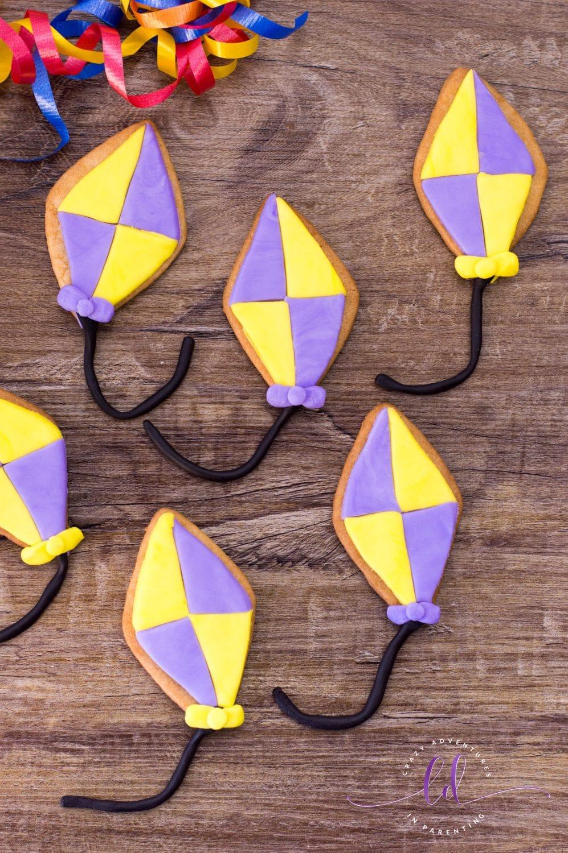 Easy Kite Sugar Cookies Recipe