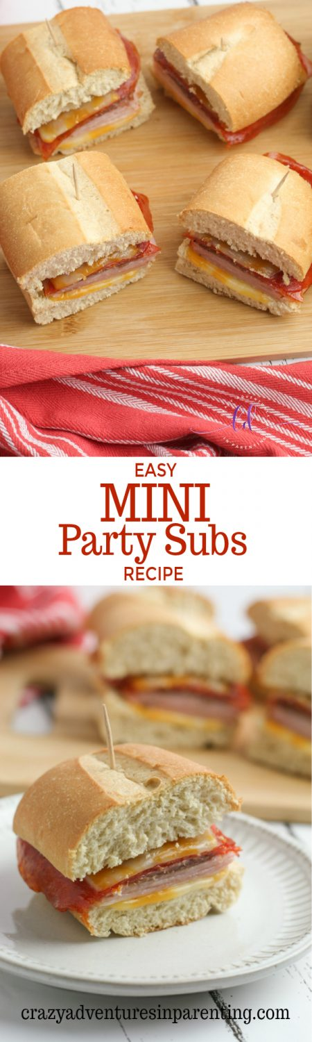 Easy Mini Party Subs Recipe
