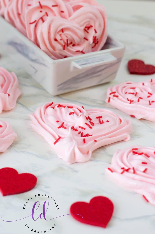 Heart Meringues Recipe