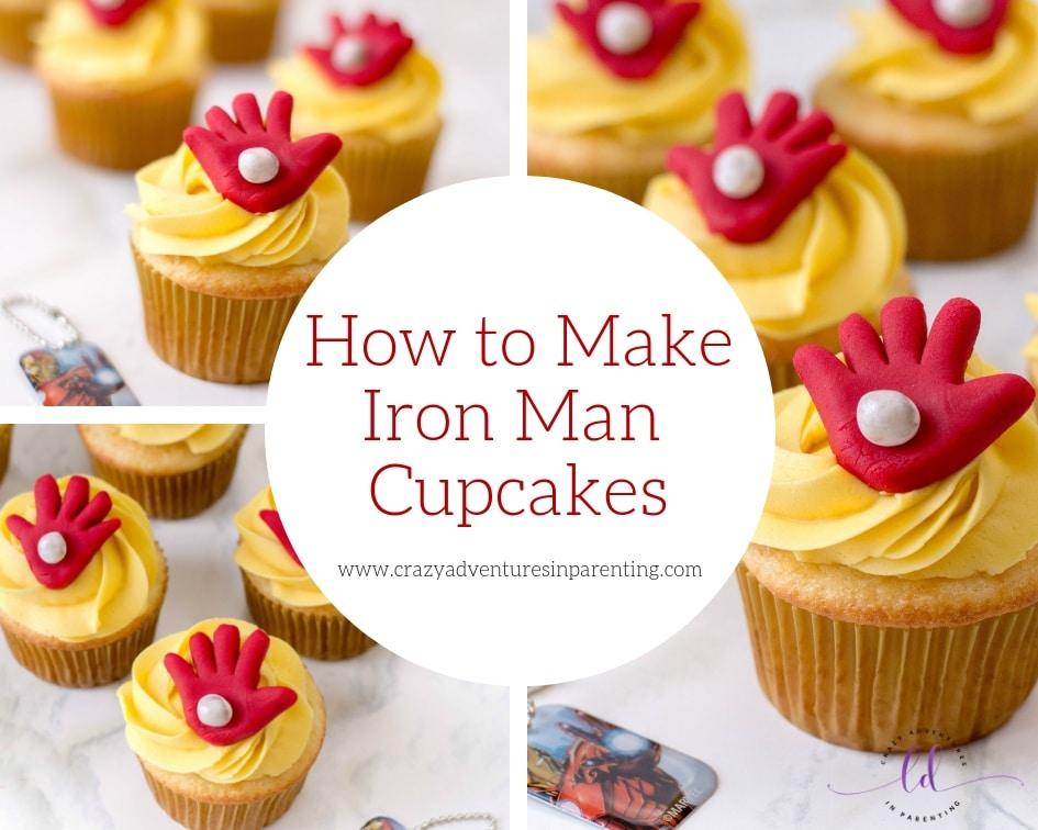 How to Make Iron Man Cupcakes