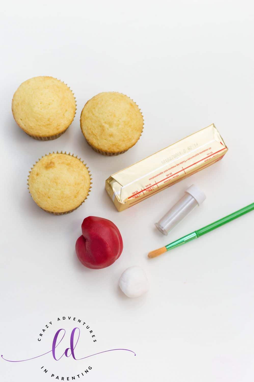 Iron Man Cupcakes Ingredients