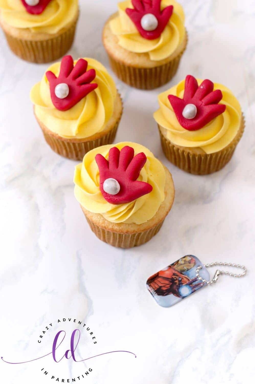 Iron Man Cupcakes Recipe