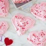 Perfect Heart Meringues