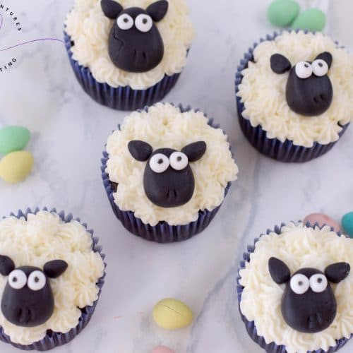Sheep Cupcakes Recipe