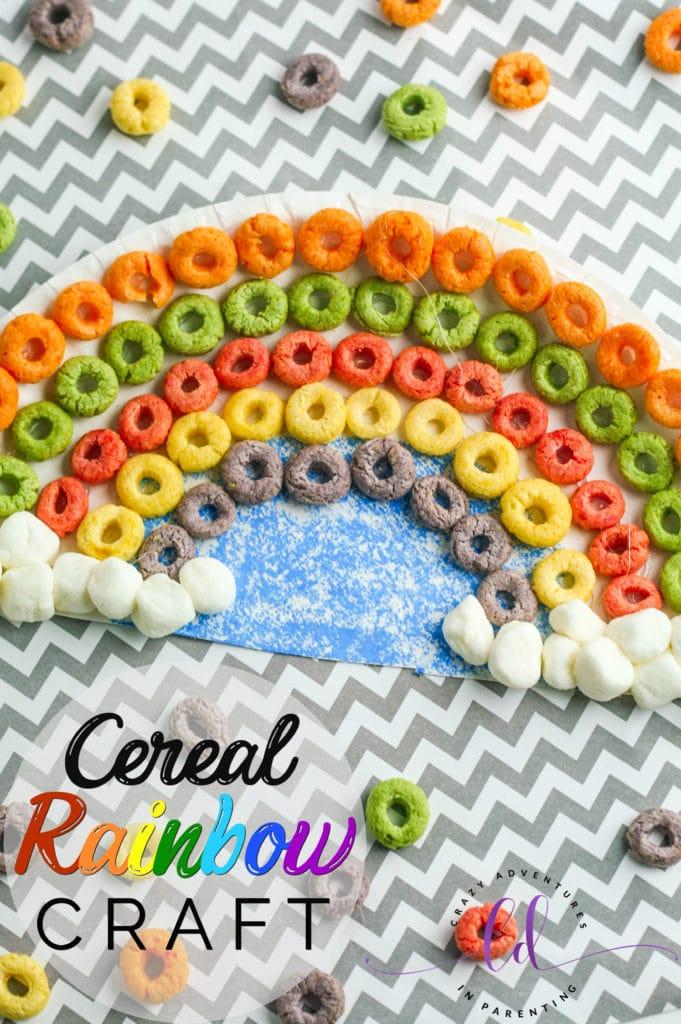 Cereal Rainbow Craft