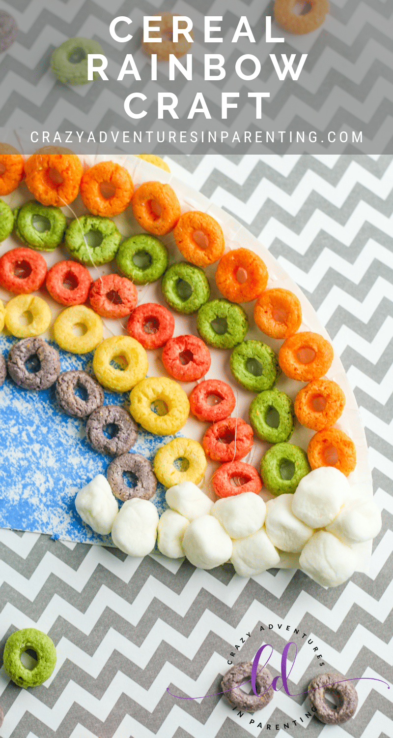 Cereal Rainbow Craft