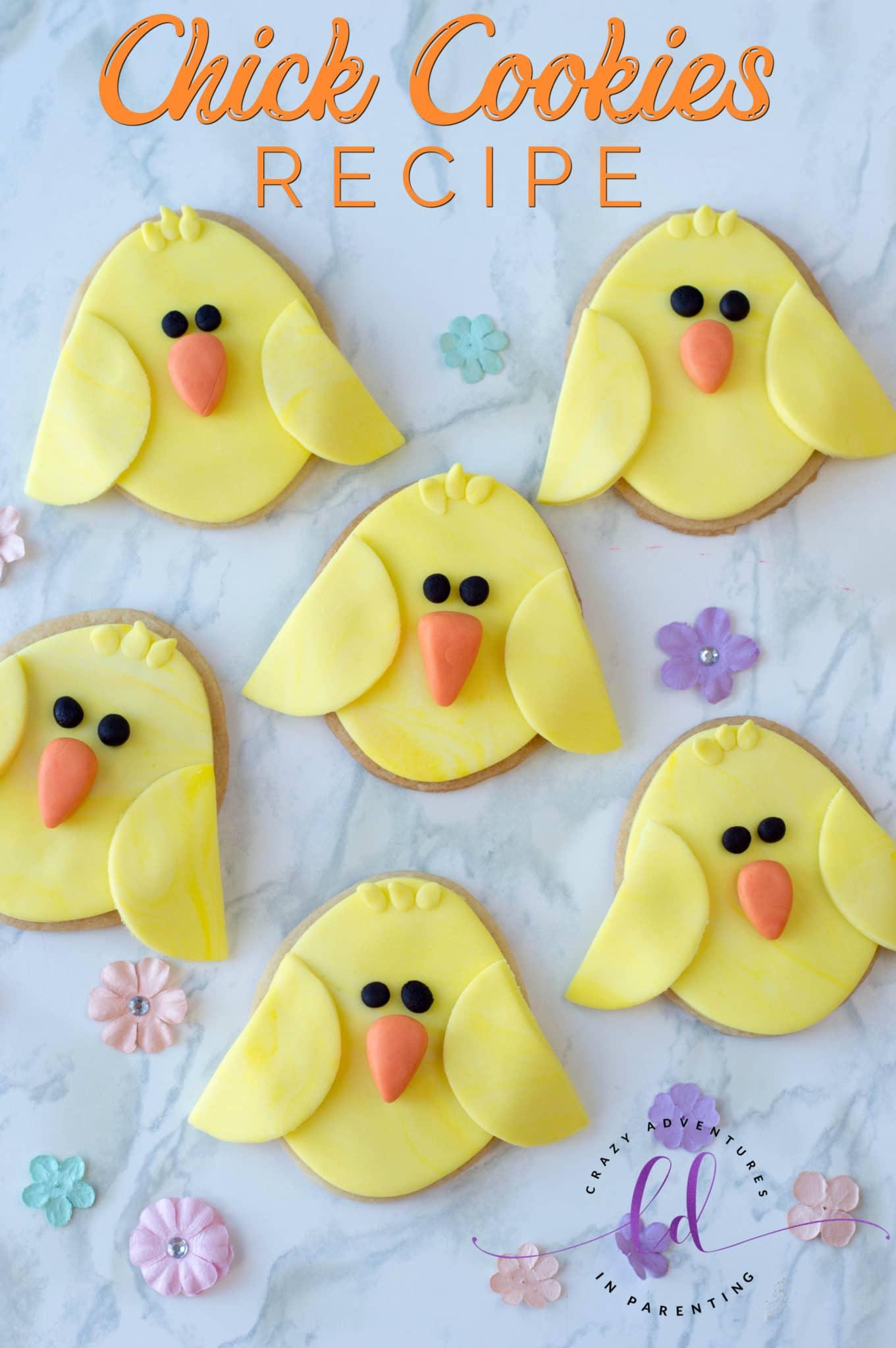 Chick Cookies Recipe