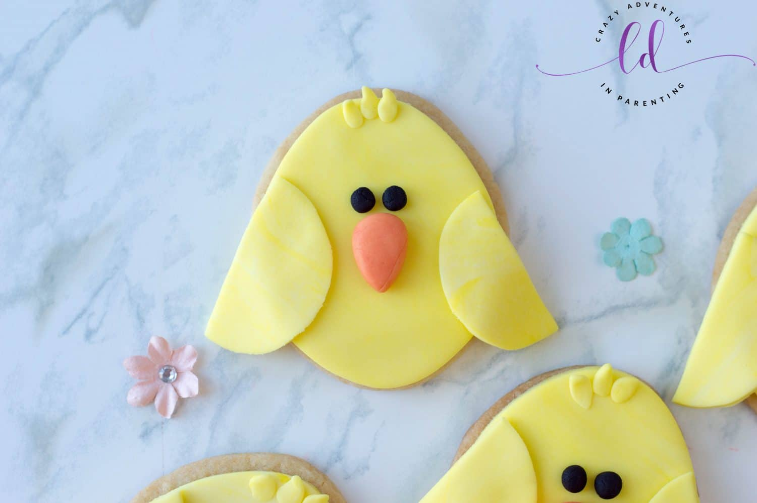 Cute Chick Cookies