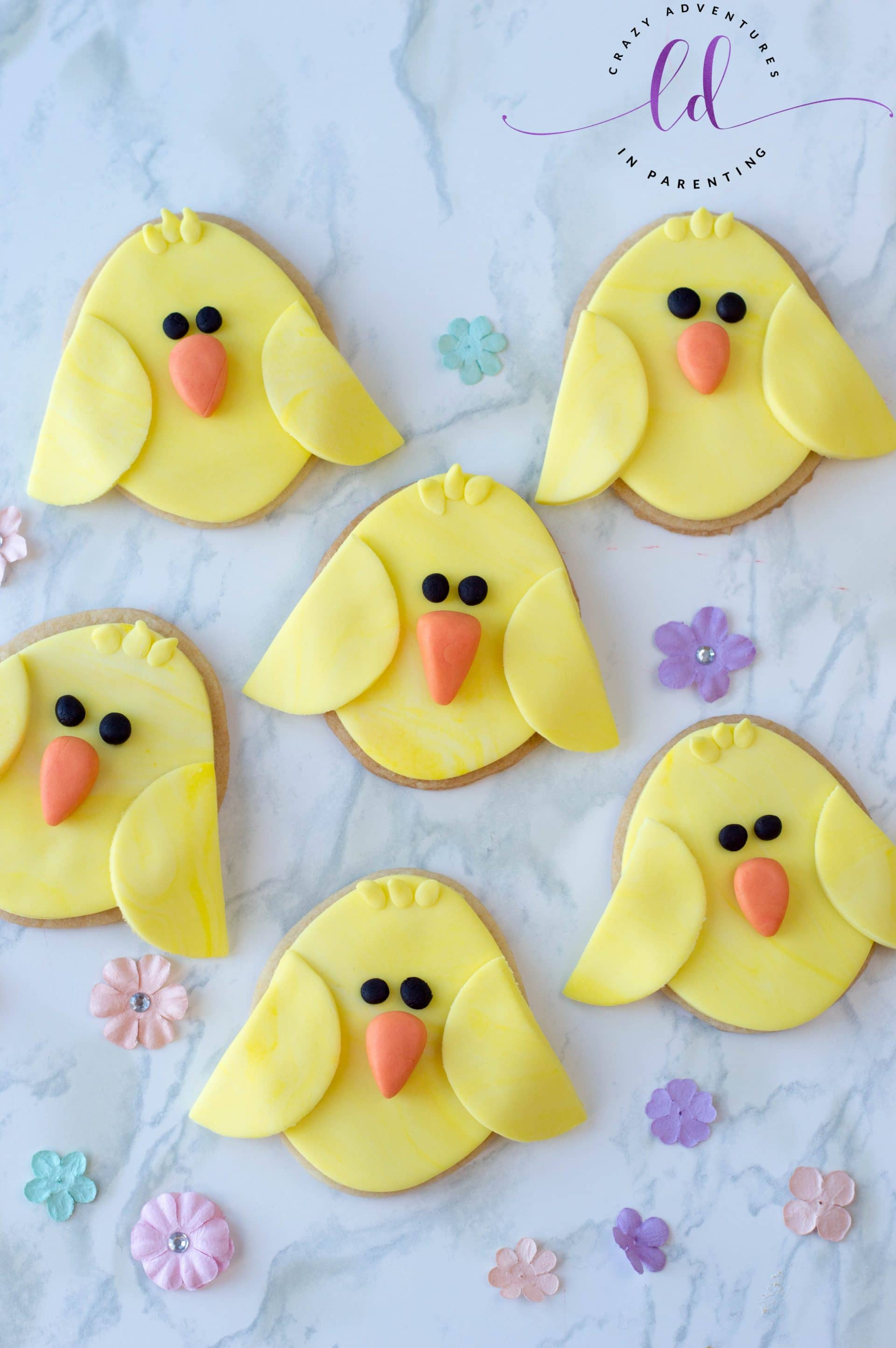 Easy Chick Cookies