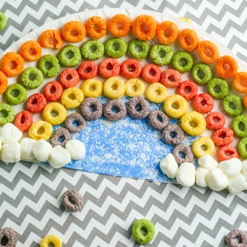 Fun Cereal Rainbow Craft