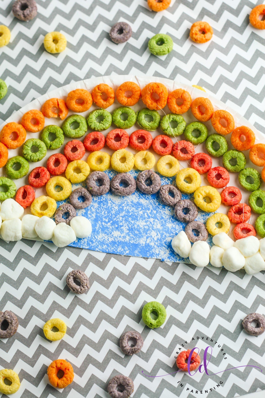 Fun Cereal Rainbow Craft