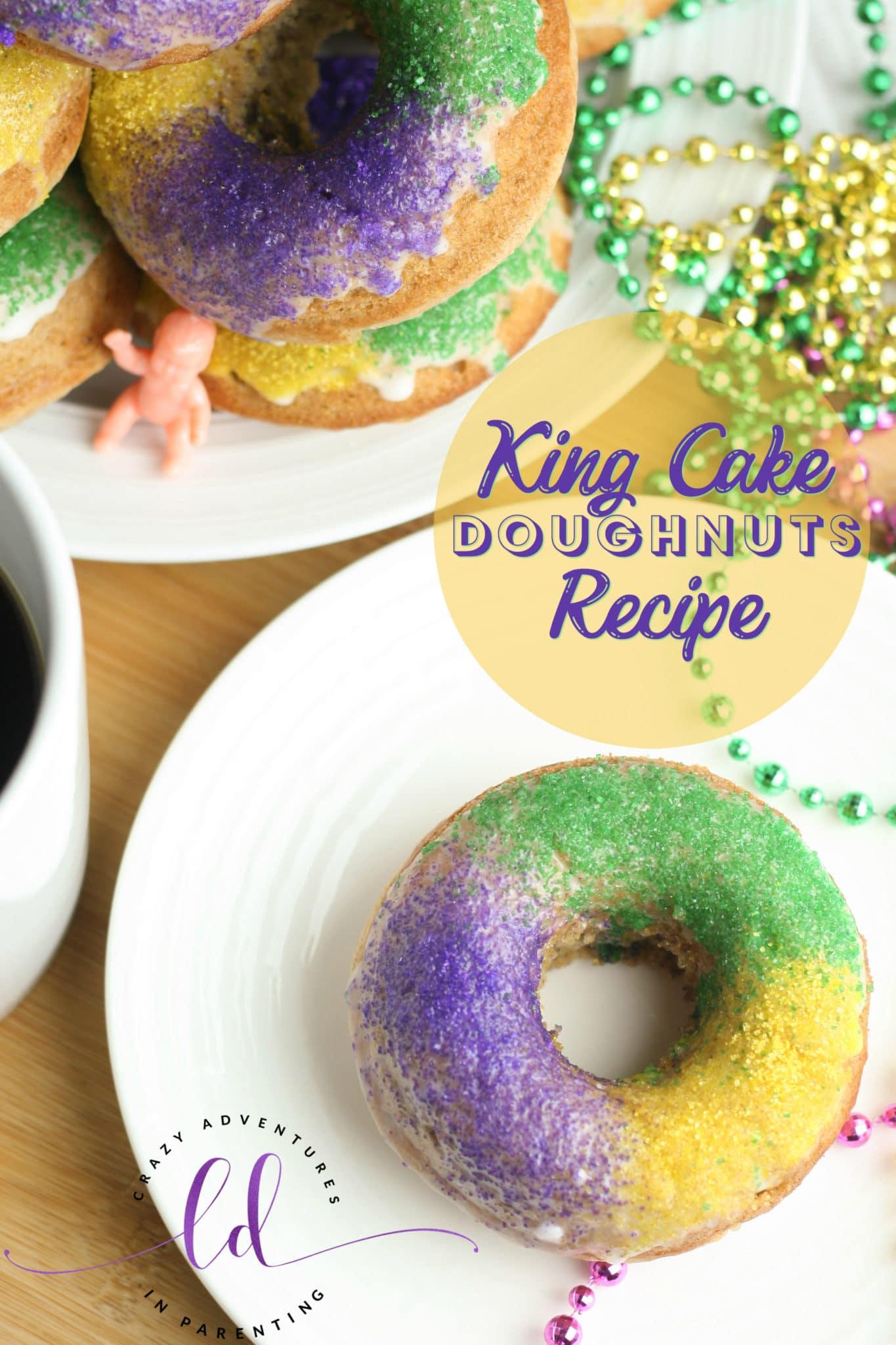 King Cake Doughnuts Recipe
