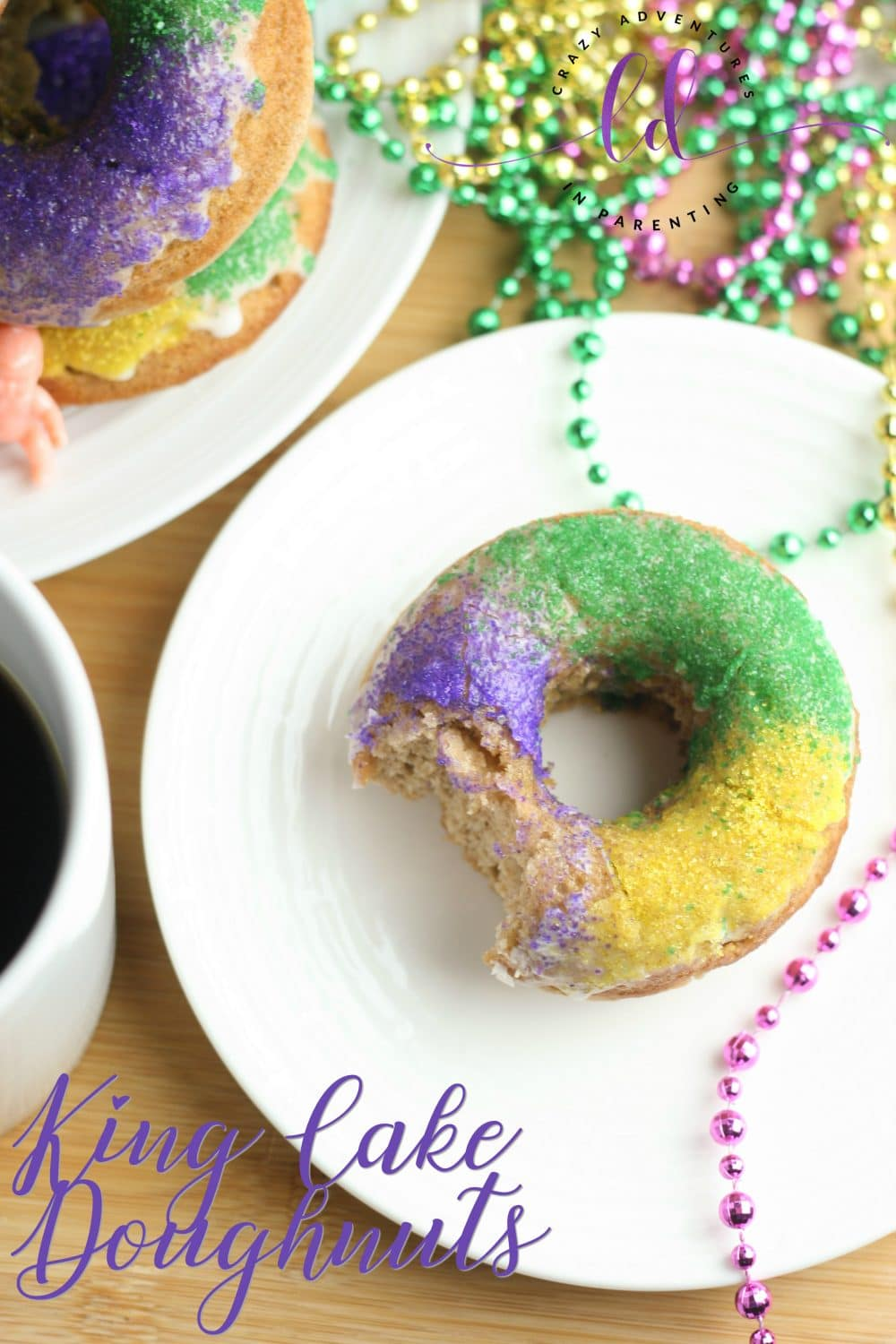 King Cake Doughnuts Recipe