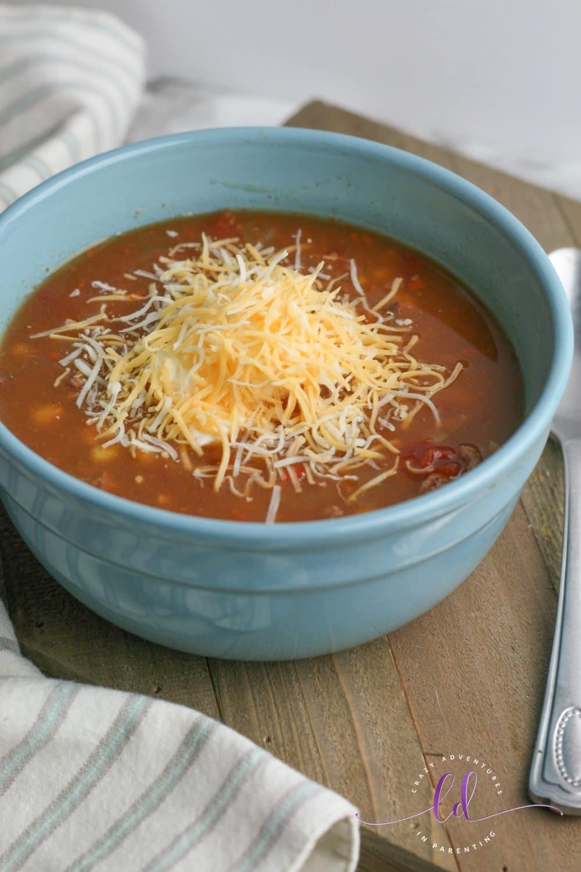 Really Easy Taco Soup