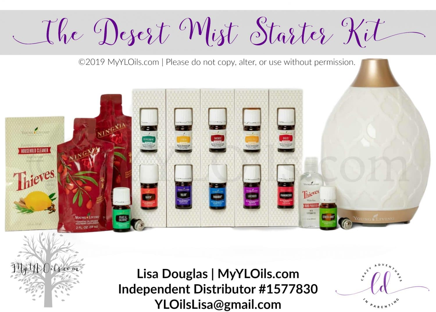 Young Living Desert Mist Starter Kit 2019
