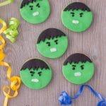 Avengers Hulk Cookies