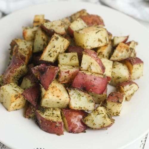 Easy Italian Herb Roasted Potatoes