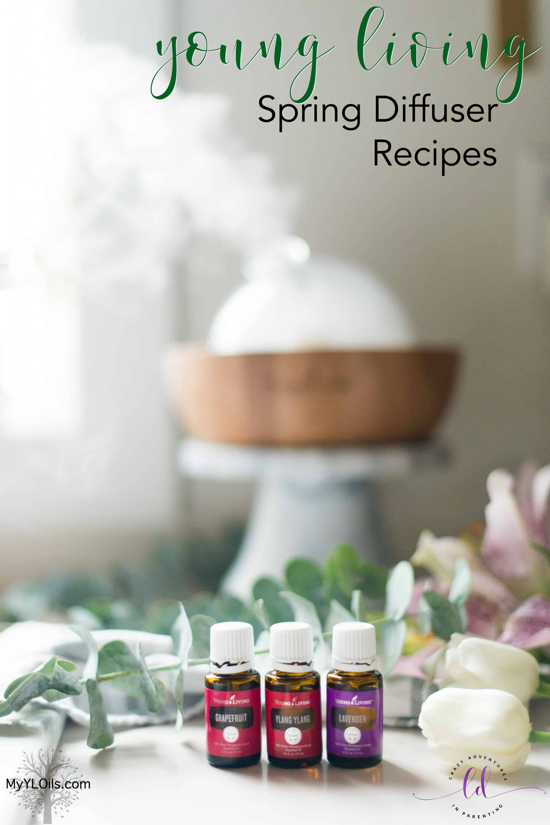 Hello Spring Young Living Diffuser Recipe 2019