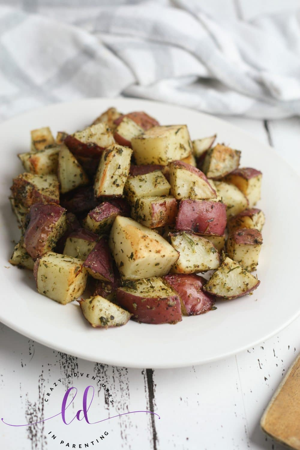 Italian Herb Roasted Potatoes Side Dish