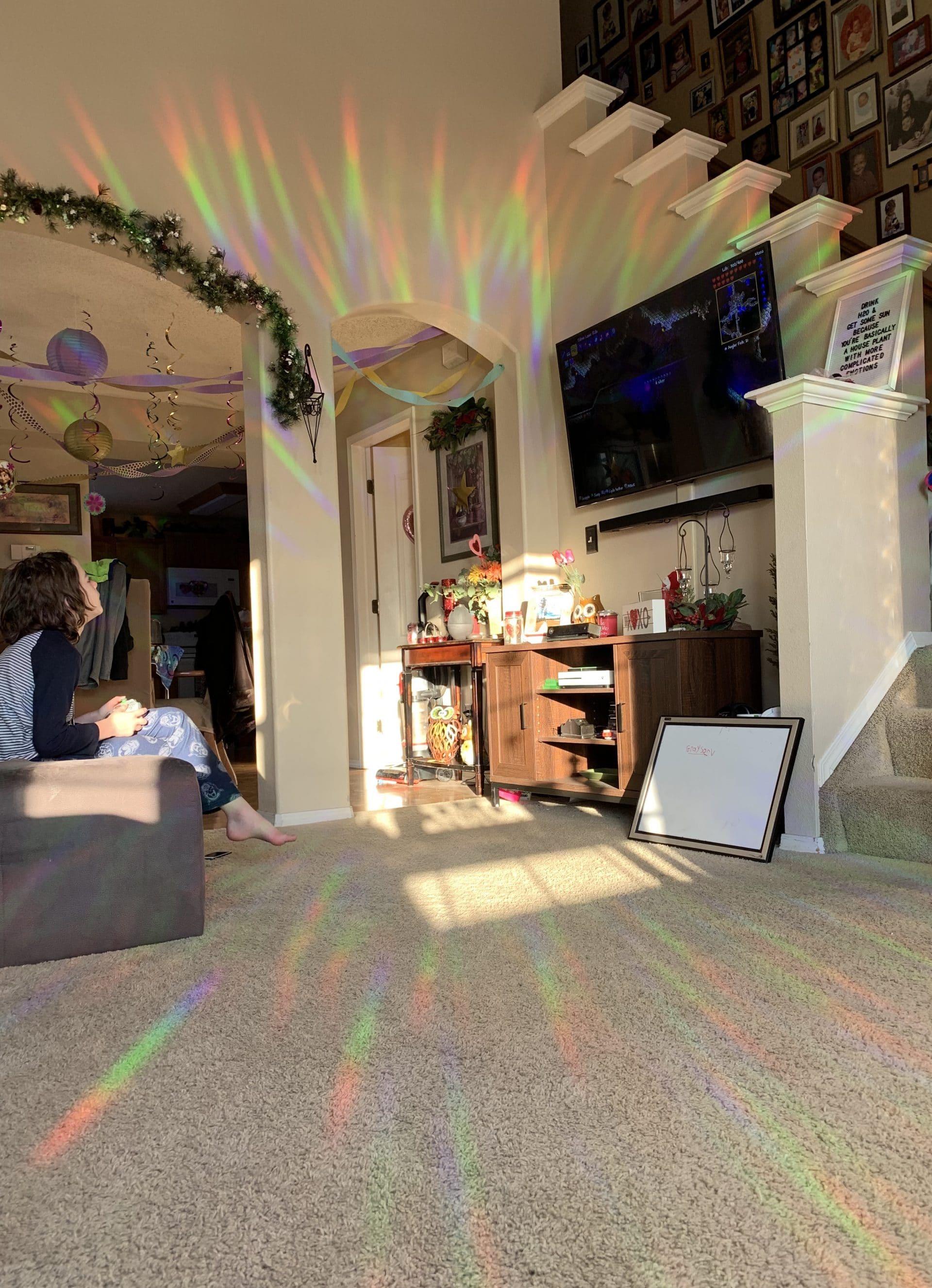 Rainbow Symphony Window Sun Catchers