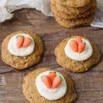 Simple Carrot Cake Cookies
