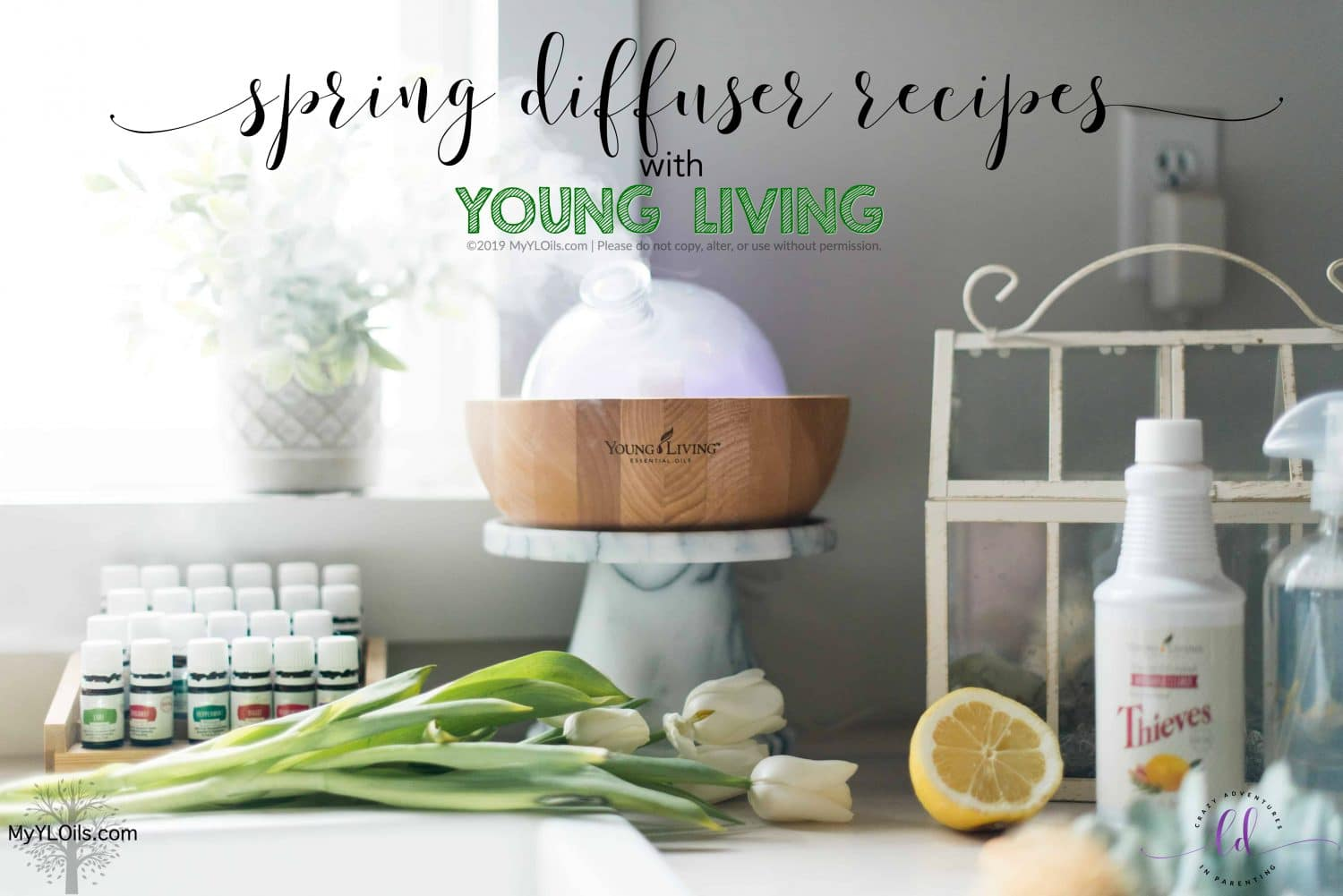 Spring Diffuser Recipes with Young Living