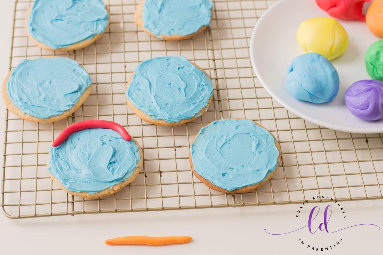 Create the Rainbow for Rainbow Cookies