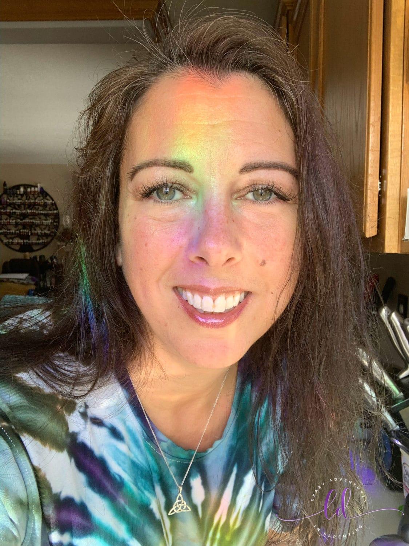 Lisa Rainbow Face